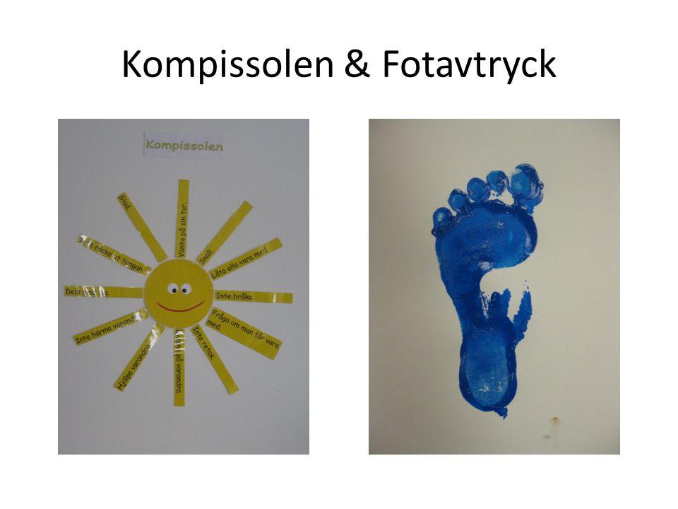 Kompissolen & Fotavtryck