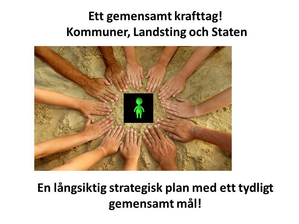 En långsiktig strategisk plan med ett tydligt gemensamt mål.