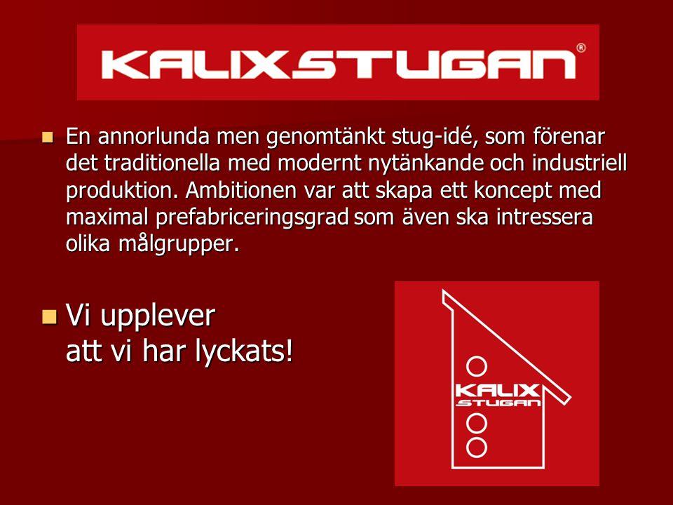  KalixStugan tillverkas industriellt i fabrik, där hela stugans bottenplan färdigställs och levereras som en modul:  KalixStugan tillverkas industriellt i fabrik, där hela stugans bottenplan färdigställs och levereras som en modul:  Ytskikt golv, väggar tak invändigt.