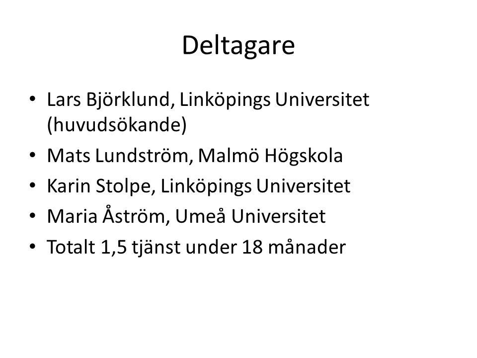 Bakgrund • Högskolestudenters vetenskapliga texter har fått en allt större roll i såväl examination som bedömning av utbildningsanstaltens kvalitet (Säljö & Södling, 2006).