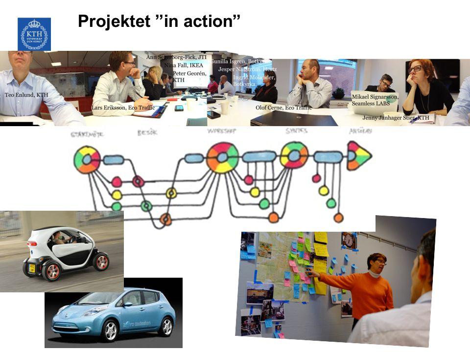 "Projektet ""in action"""