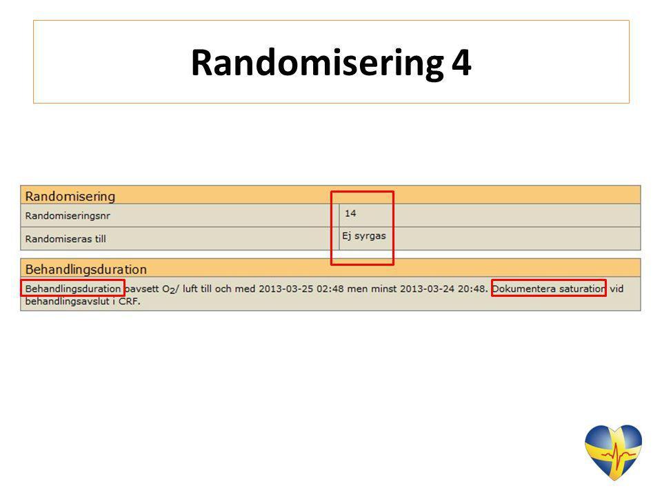 Randomisering 4