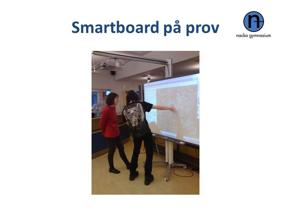 Smartboard på prov