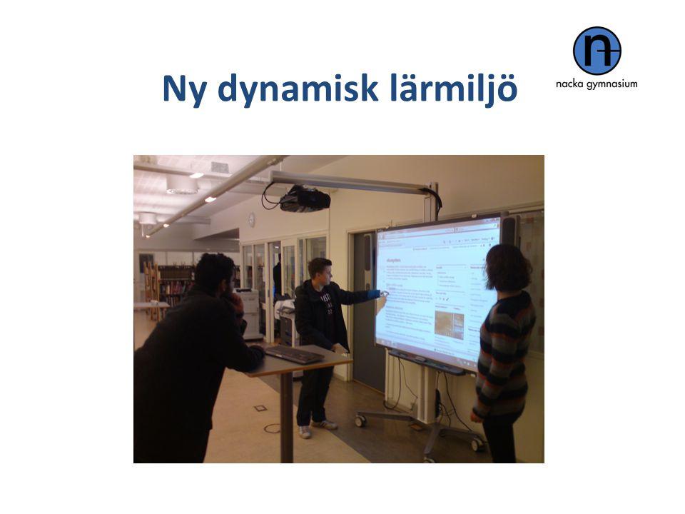 Efter Ny dynamisk lärmiljö