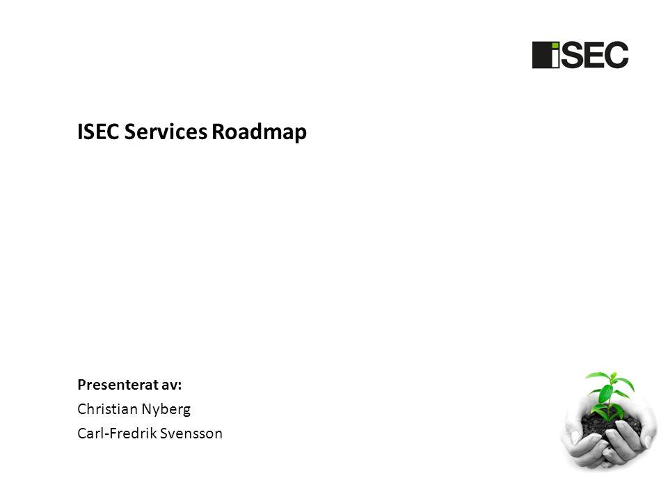 Systemutveckling ISEC Services har det senaste halvåret fått alltmer utvecklingstid för att förbättra SECURA.