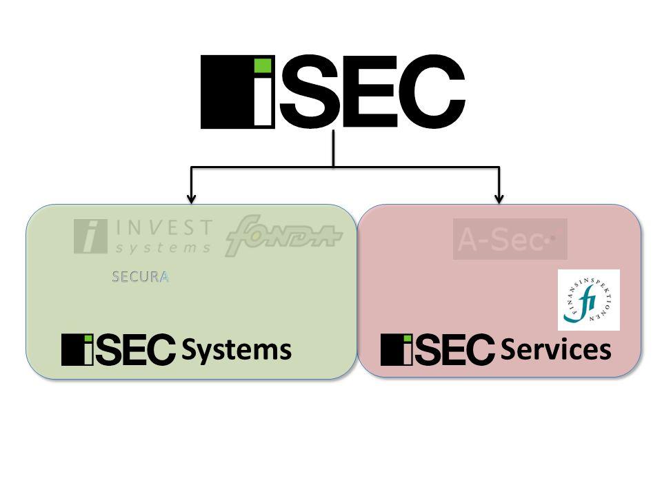 ISAE 3402 Processer ISEC Services påbörjade arbetet med att kartlägga alla viktiga processer för de tjänster vi utför.