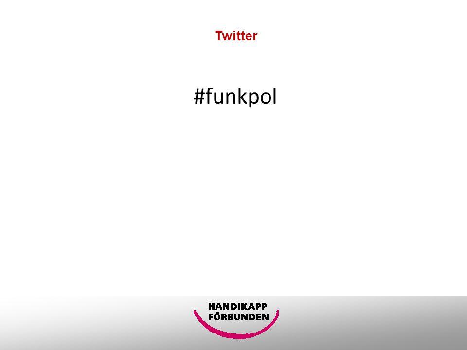 Twitter #funkpol