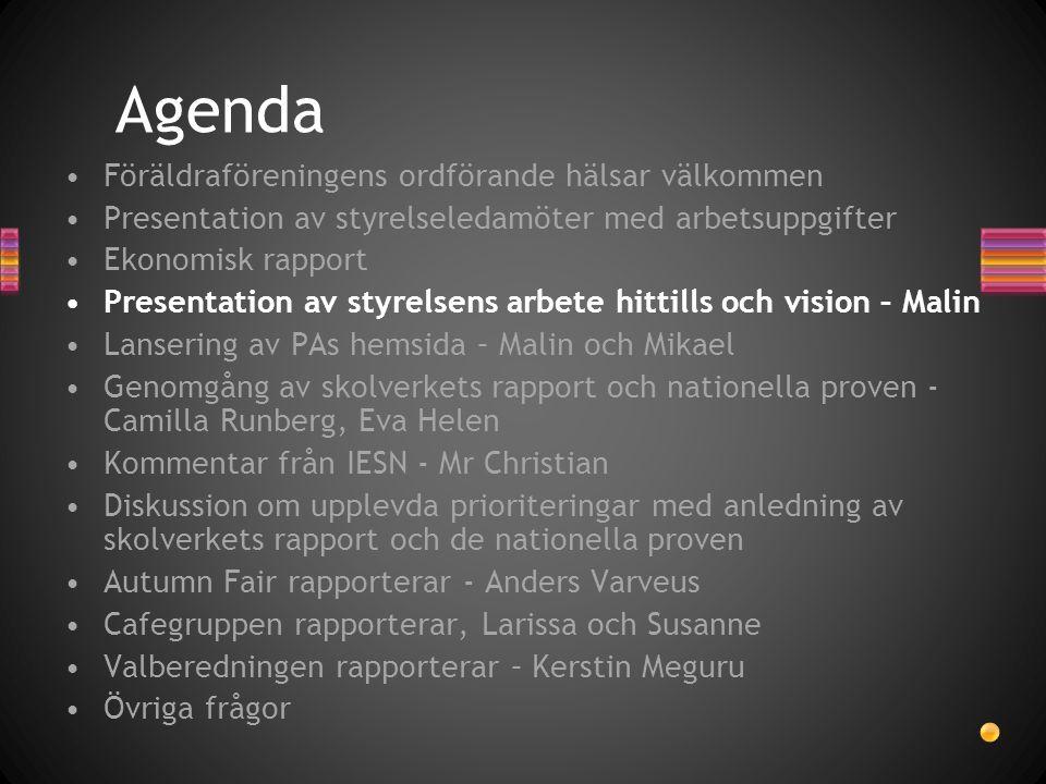 Valberedningens medlemmar Erik Johansson Yvonne Clamf Petra Landberg
