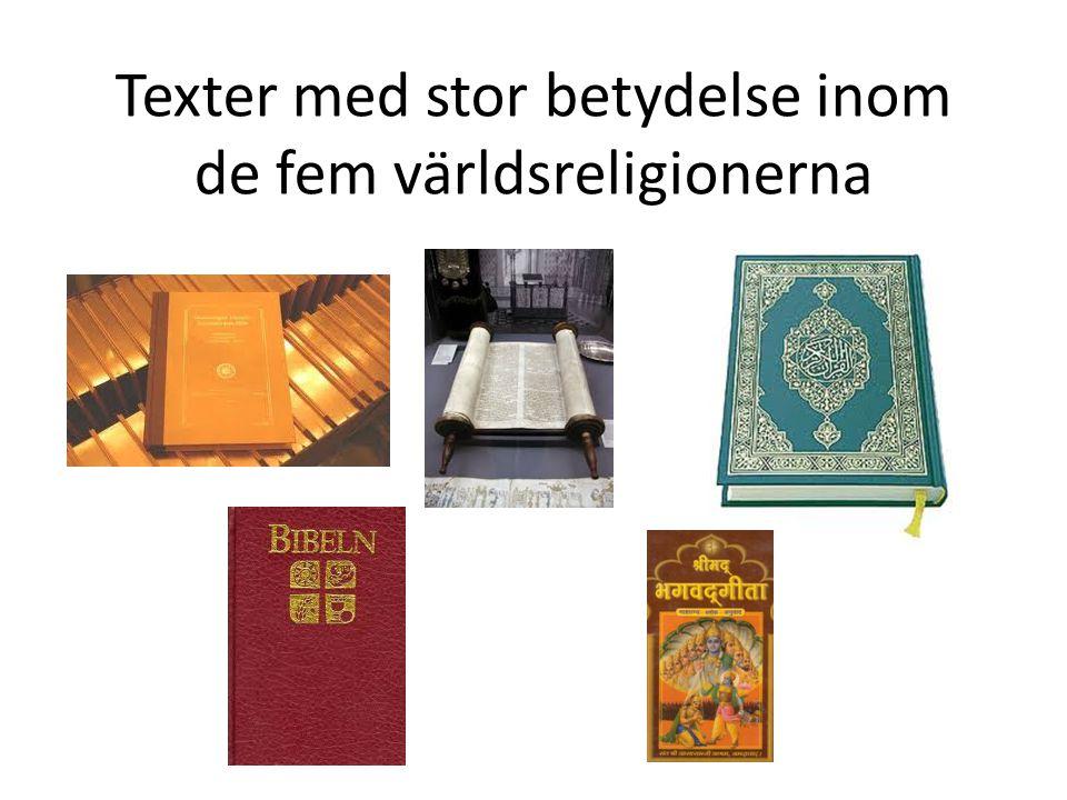 Bibeln • Bibeln är kristendomens heliga bok.• Den består av Gamla och Nya testamentet.
