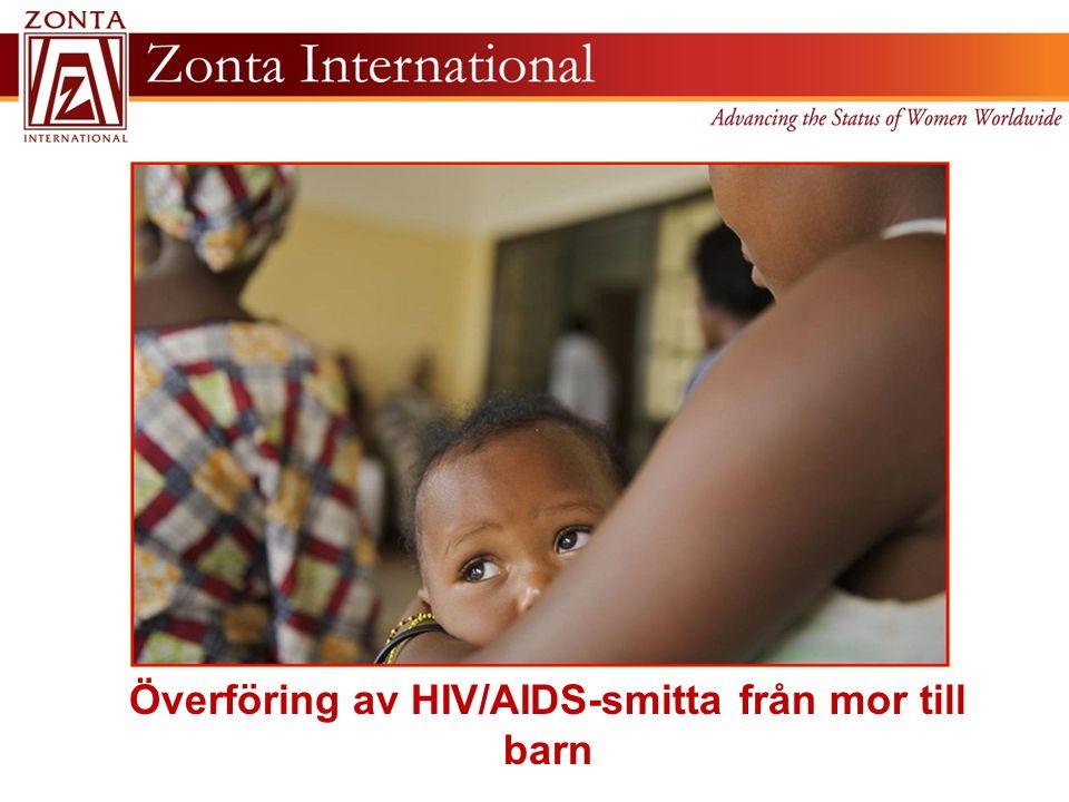 Överföring av HIV/AIDS-smitta från mor till barn