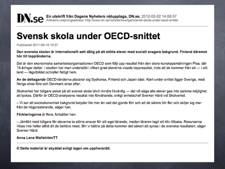 Den nya samlade Läroplanen för grundskolan 1.Skolans värdegrund och uppdrag 2.