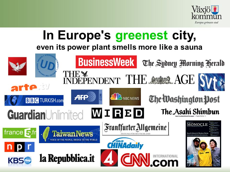 In Europe's greenest city, even its power plant smells more like a sauna