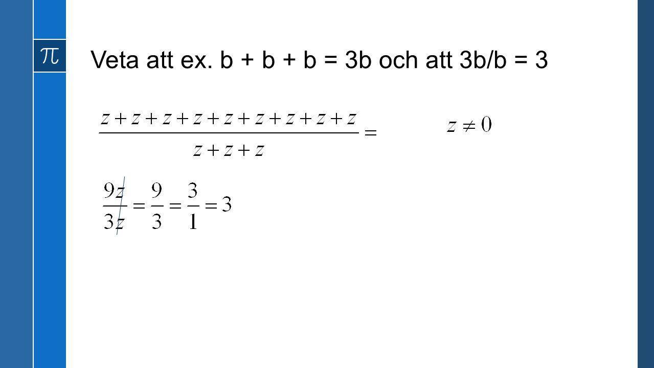 Veta att roten ur x upphöjt till två är lika med x