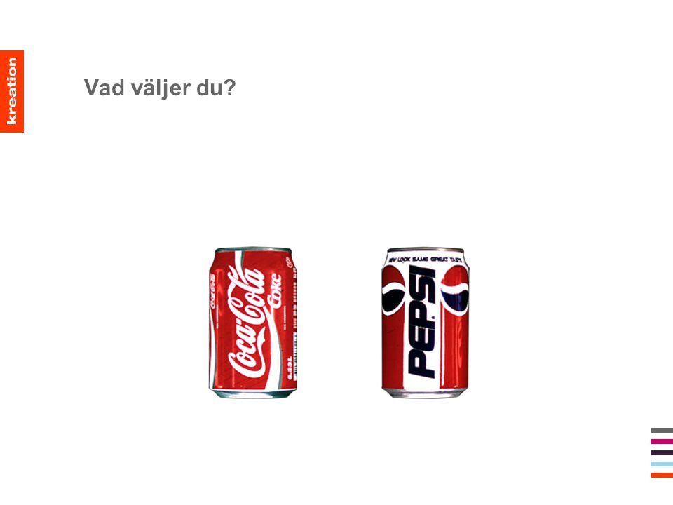Vad väljer du?