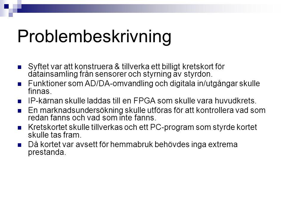 Tack till  Lennart Lind, IDT  Joakim Adomat, IDT  Anna Petersson, JAPS Elektronik