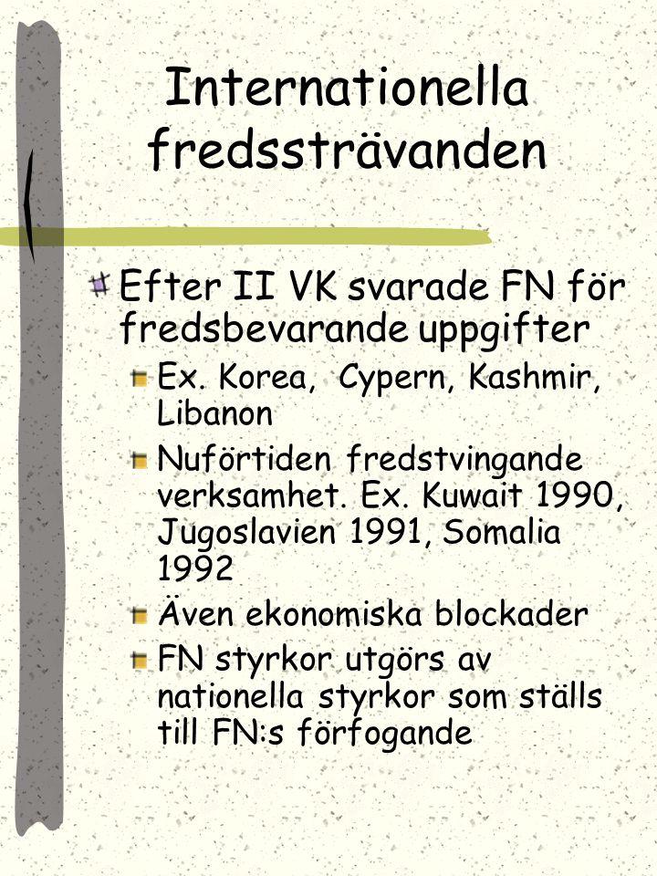 1985 Gorbatjov till makten 1989 Brezjnevdoktrinen upphävd S. skulle inte blanda sig i andra staters angelägenheter ekon. svårigheter gjorde det omöjli