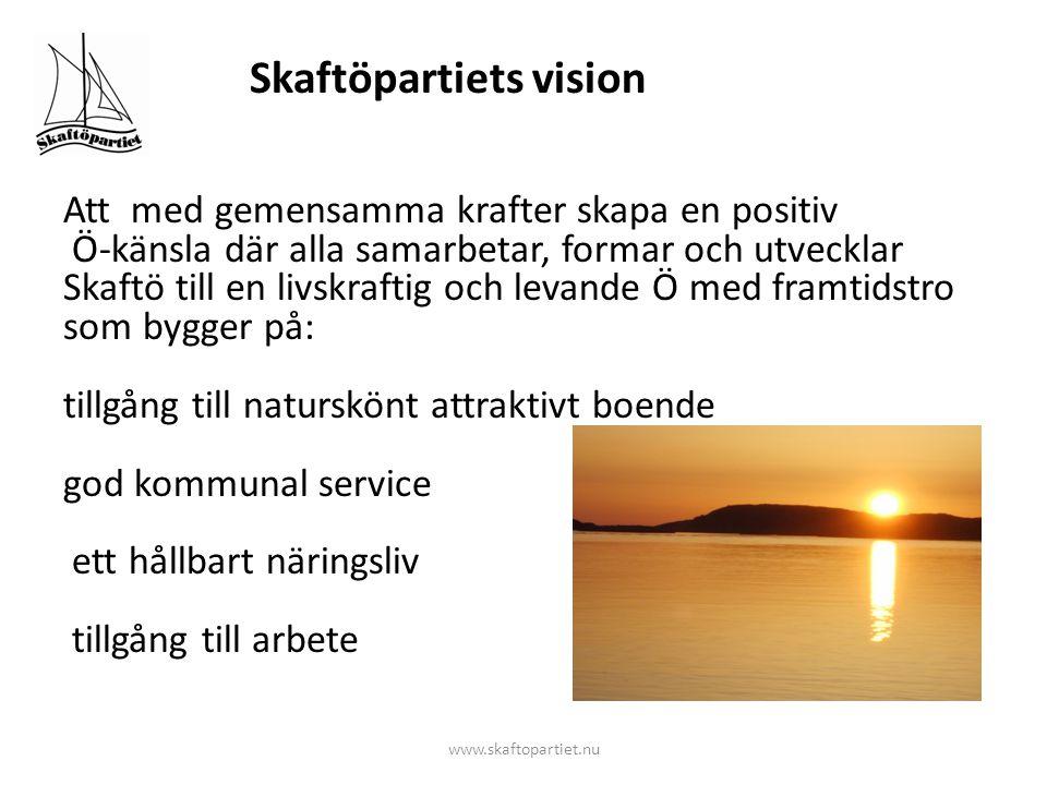 Befolkningsutveckling på Skaftö 2010 24—29 år jämfört med 60—65 år Konsekvens om vi inte handlar idag ?.