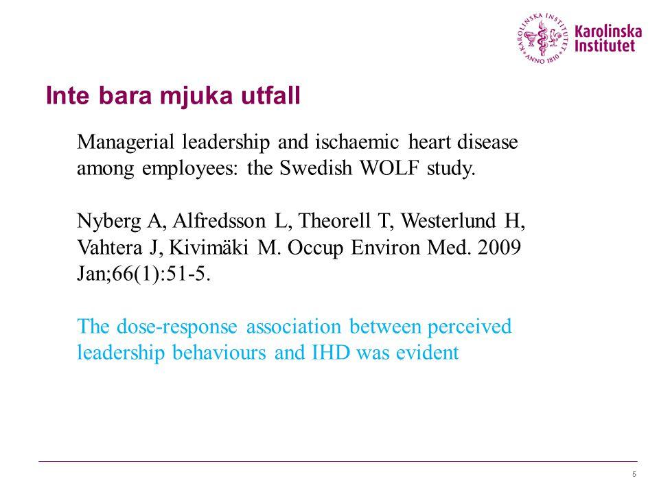 Hälsa och framtid i privat sektor Faktorer på organisationsnivå som har betydelse för låg sjukfrånvaro i privata företag:  Ledningsstrategier  Kompetensförsörjning  Kommunikation och delaktighet  Rutiner kring hälsa och sjukfrånvaro 26 juni 2014Marianne Parmsund6