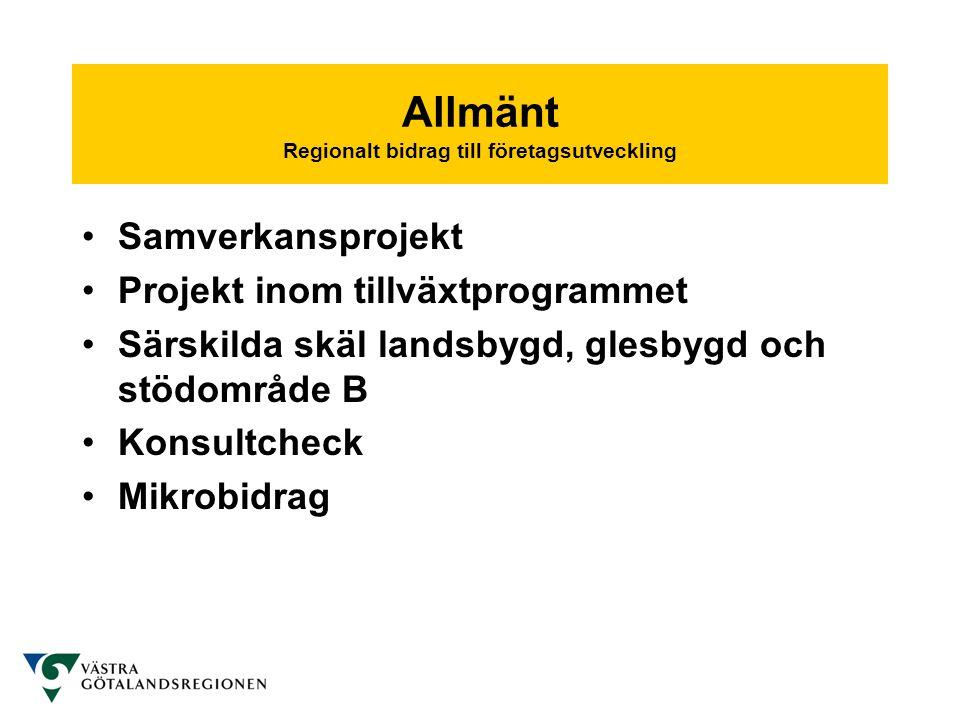 • Västra Götalandsregionen täcker kostnaderna för insatser från vald samarbetsorganisation - universitet, högskola, forskningsinstitut eller motsvarande.
