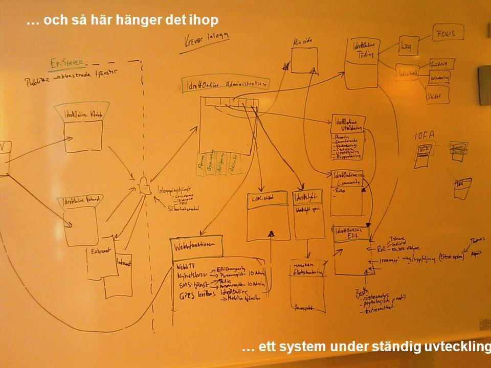 … och så här hänger det ihop … ett system under ständig uvteckling