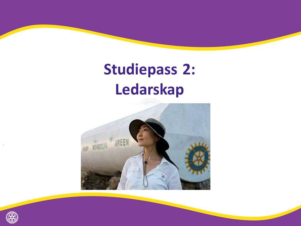 Studiepass 2: Ledarskap Distriktssamrådet | 11