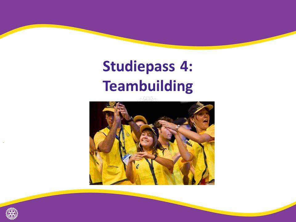 Studiepass 4: Teambuilding