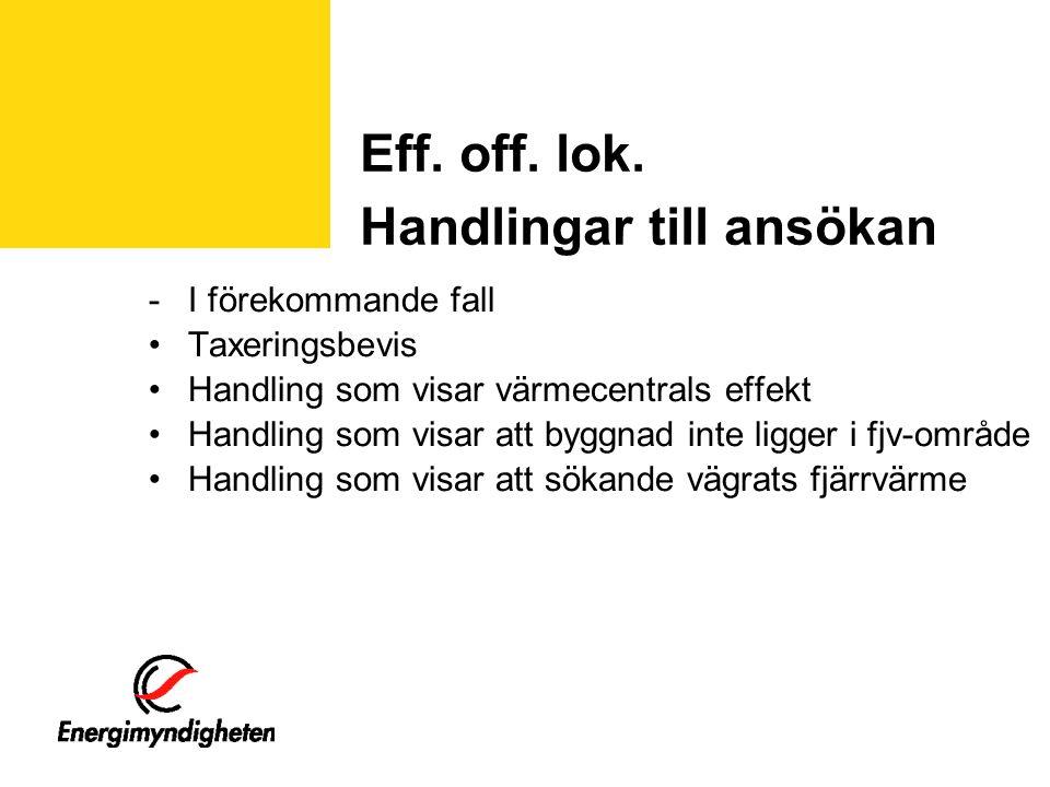Eff. off. lok.