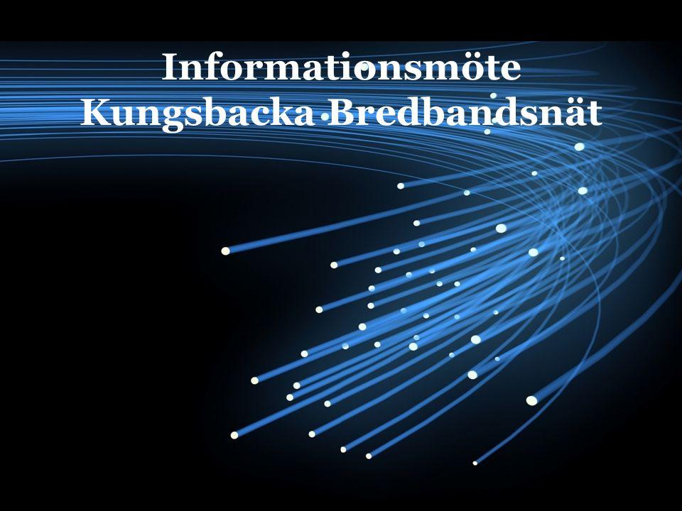 Informationsmöte Kungsbacka Bredbandsnät