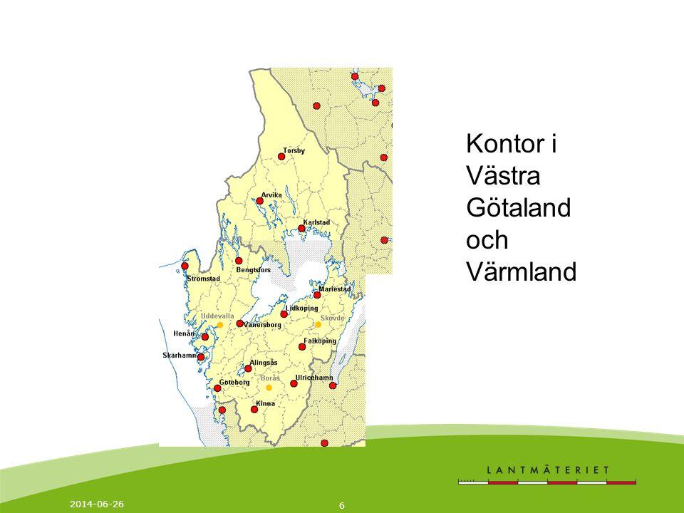 6 Kontor i Västra Götaland och Värmland