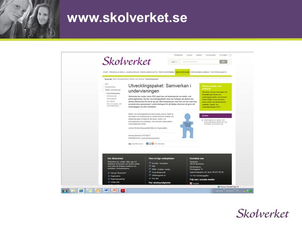 www.skolverket.se