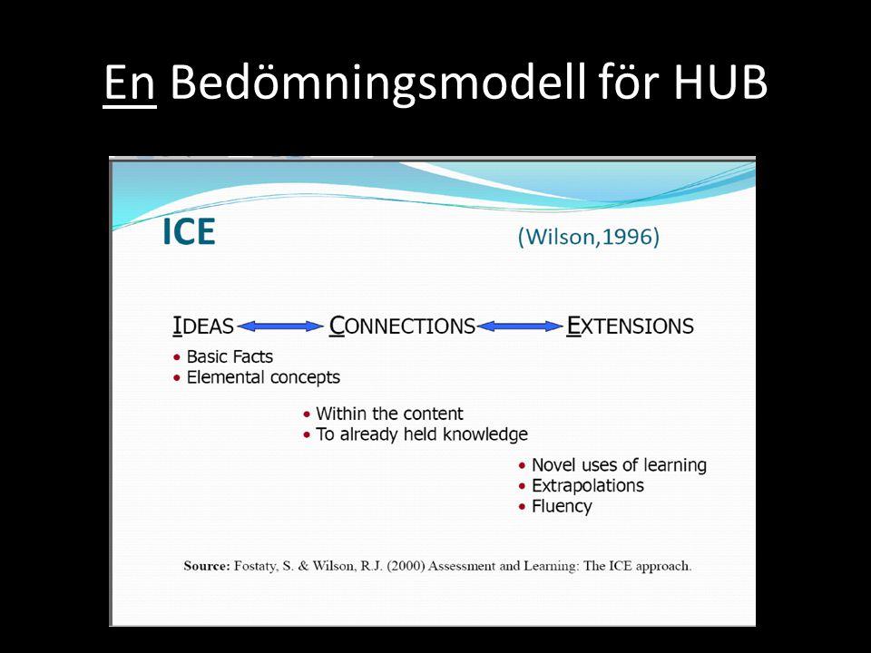 En Bedömningsmodell för HUB