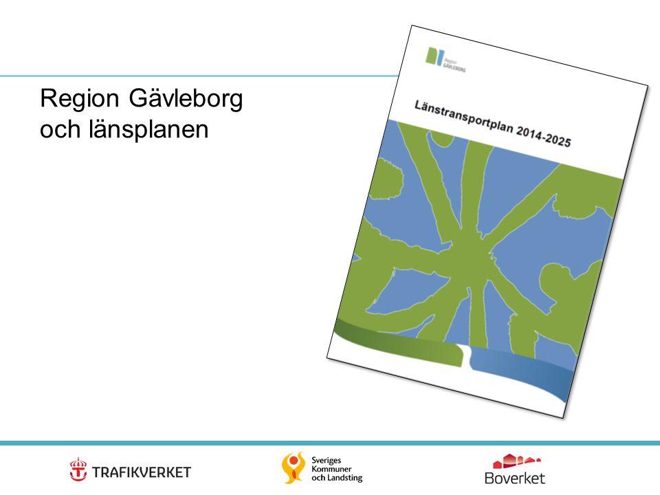 12 Region Gävleborg och länsplanen
