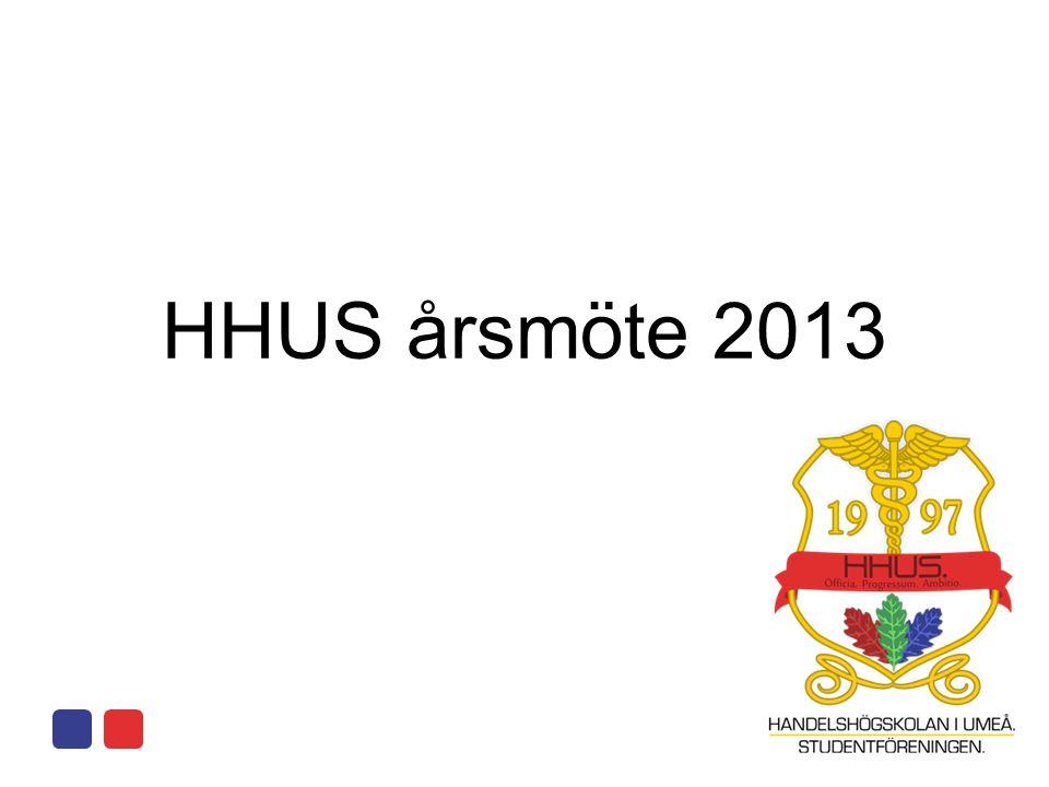 HHUS årsmöte 2013