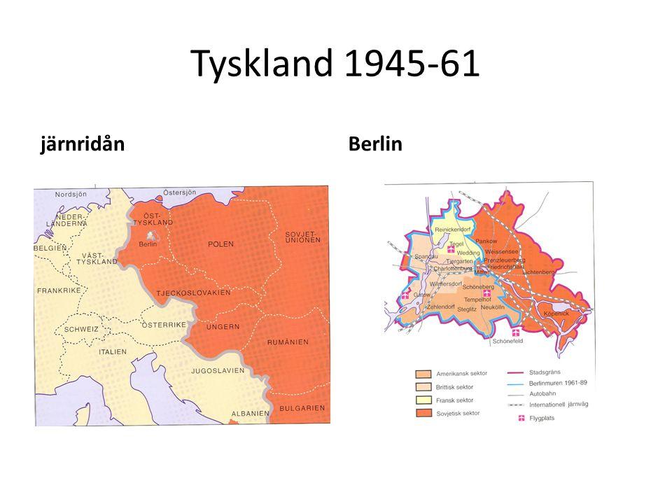 Tyskland 1945-61 järnridånBerlin