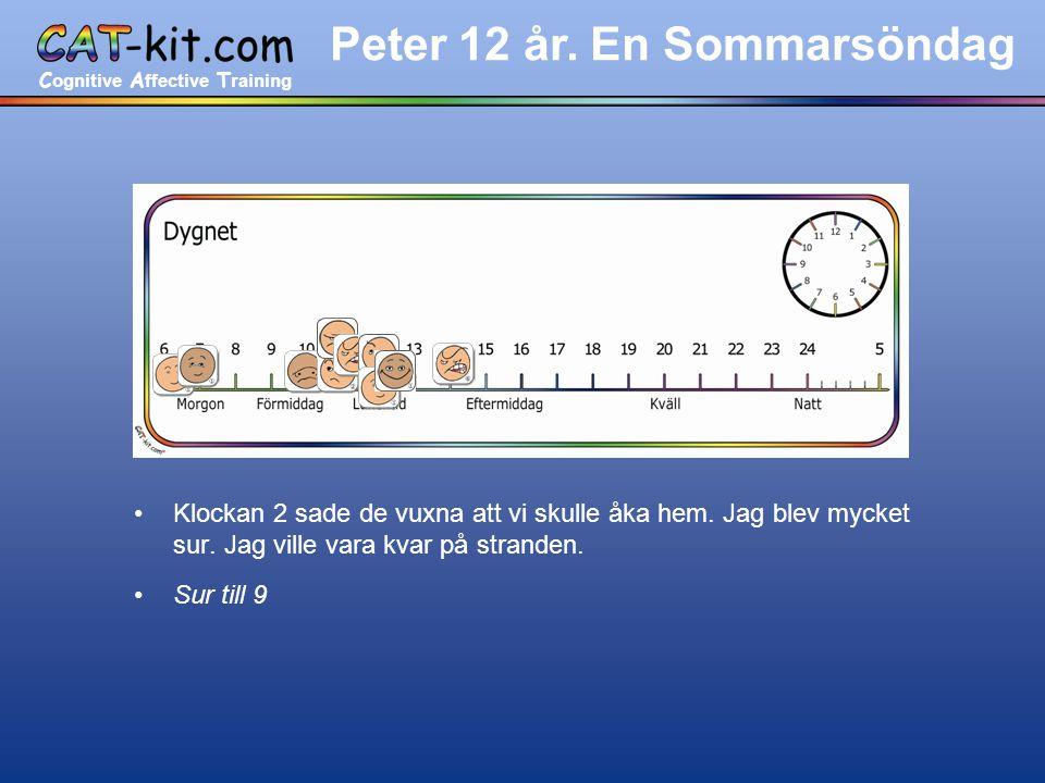 C ognitive A ffective T raining Peter 12 år.