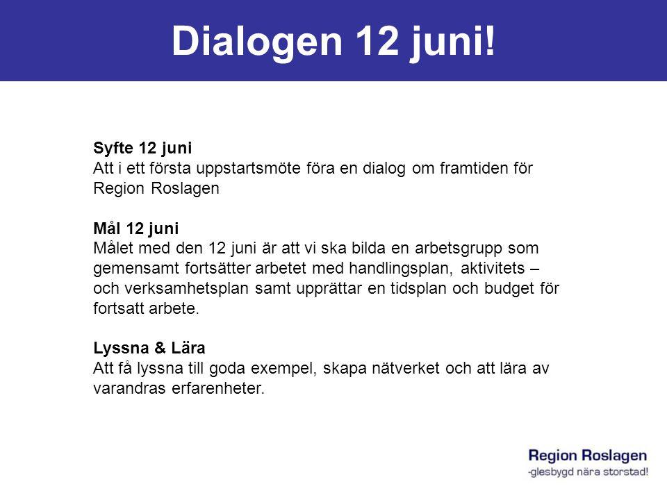 Dialogen 12 juni.