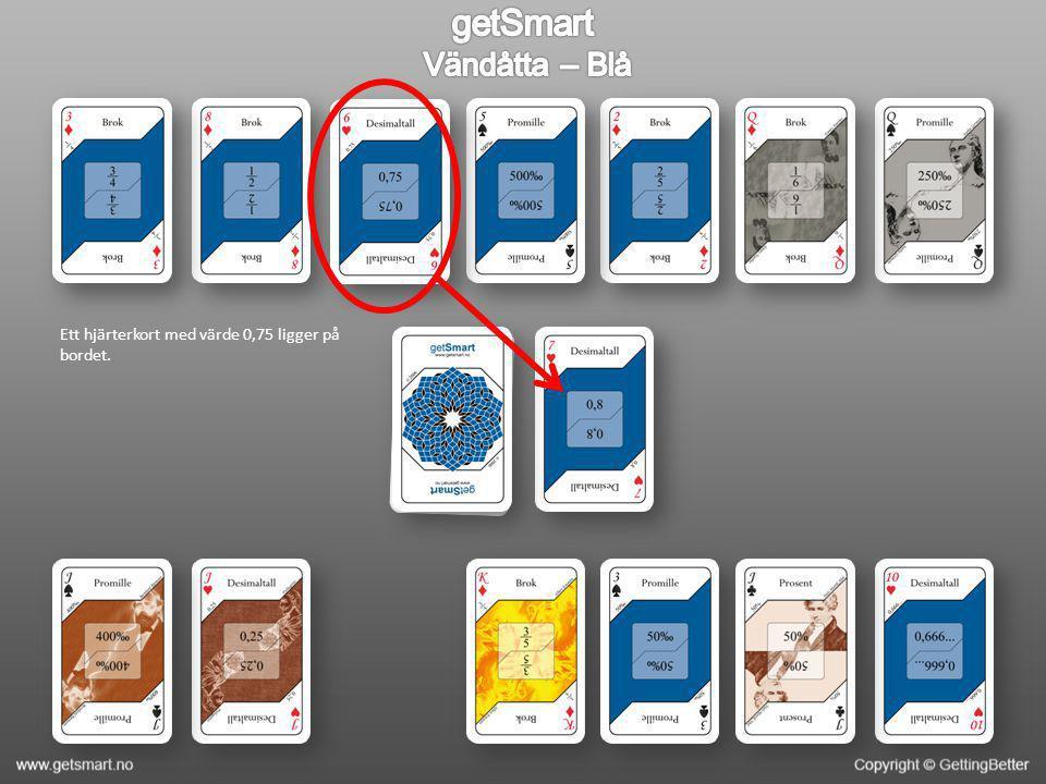 Kortets värde är 0,15 och du har fortfarande inga värden som motsvarar 1/6, inte ens genom att kombinera kort.