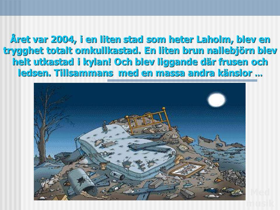 Året var 2004, i en liten stad som heter Laholm, blev en trygghet totalt omkullkastad.