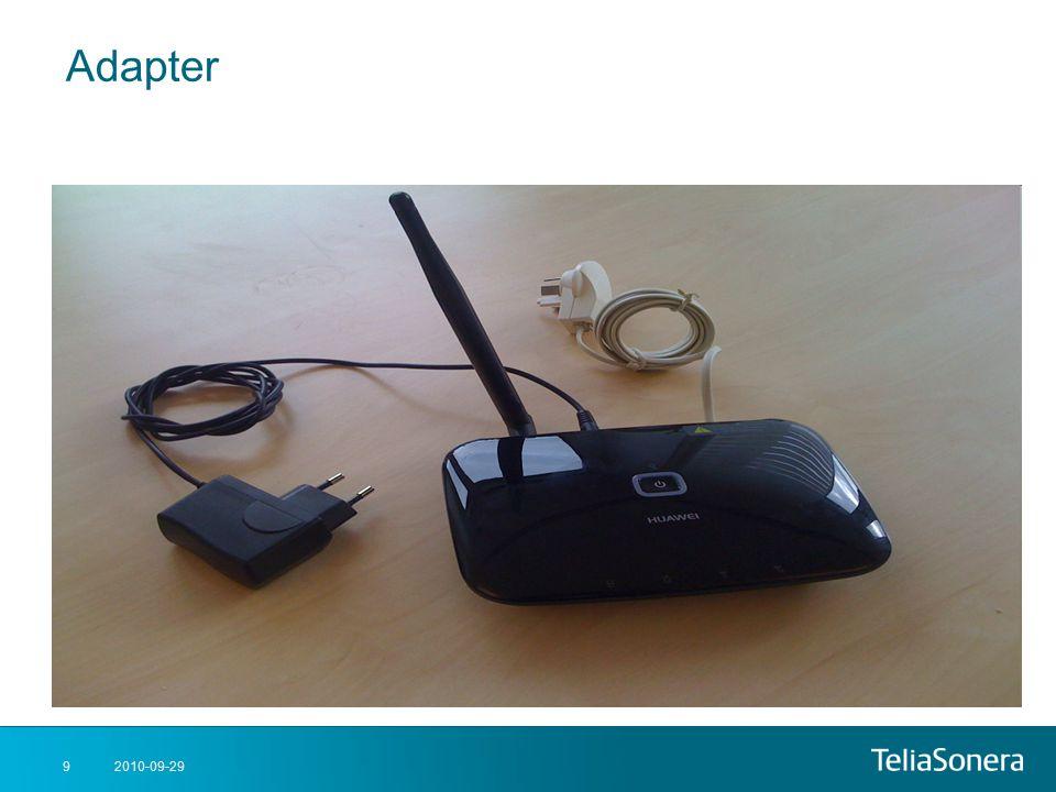 2010-09-299 Adapter