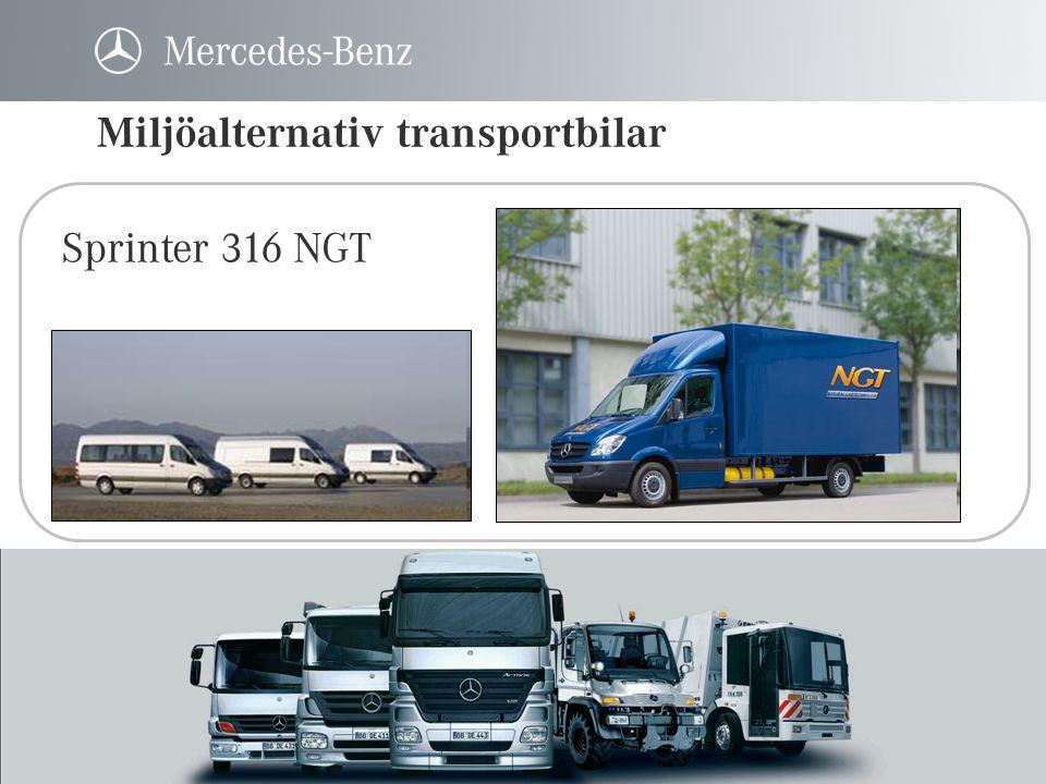 Econic – flytande gas • 30 st dragbilar levererade till VOS • Rotterdam – Hamburg – Rotterdam • Sopbilar i Spanien