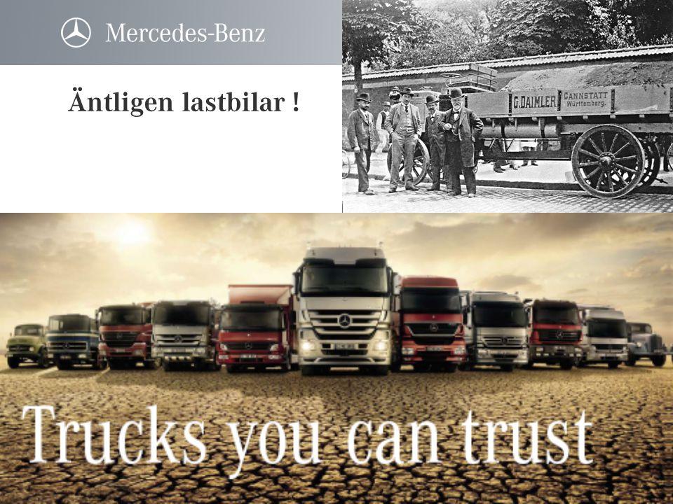 Miljölastbilar - Atego • 7,5 – 16 tons totalvikt • 177 – 286 hk • Euro 5 utan partikelfilter std • EEV utan partikelfilter tillval