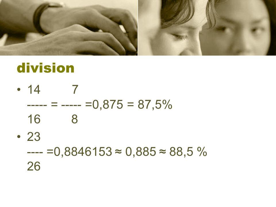 Lösningsförslag •Skillnaden -------------- = gamla lönen •38000-32000 ------------------ = 32000 •6000 --------- = 0,1875 = 18,75% 32000 •x·32000 =38000 •x = 38000 ---------- 32000 •x = 1,1875 •Lönen måste ökas med 18,75%