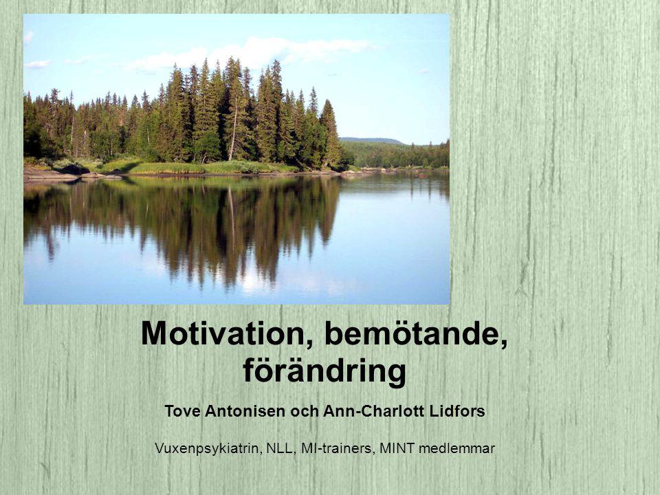 Ambivalens Ambivalens är en naturlig fas i alla förändringsprocesser.