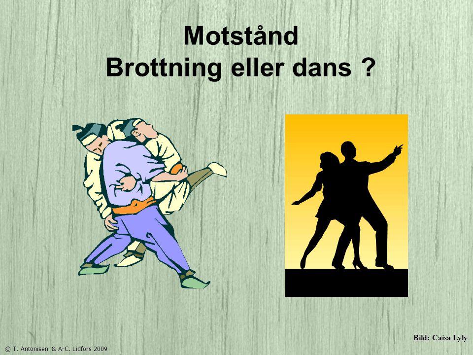 Bild: Caisa Lyly Motstånd Brottning eller dans ? © T. Antonisen & A-C. Lidfors 2009