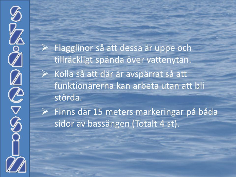  410.2 410.3 En simmare måste simma och slutföra loppet på samma bana som han/hon startade starten skedde.