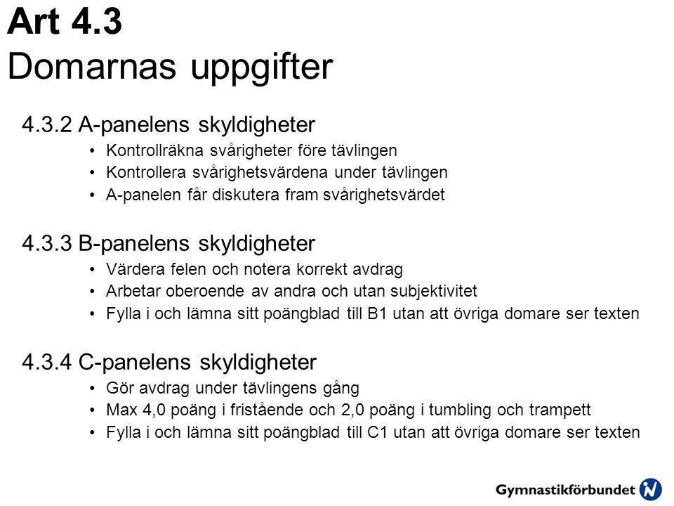 Art 15.2.8 Kombinationer Ett kombinationsmoment utg ö rs av tv å moment.