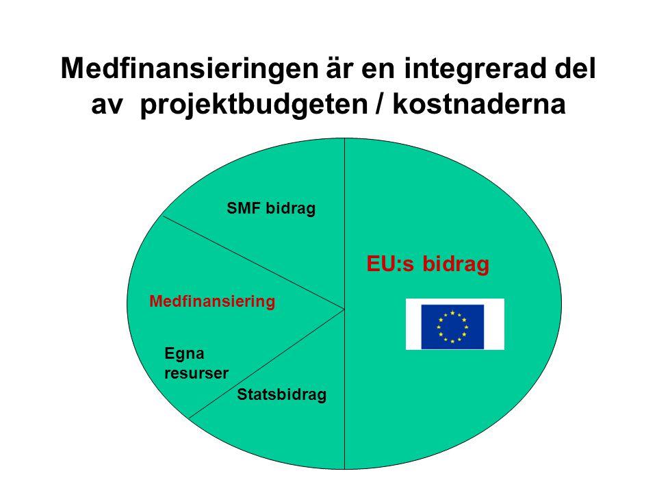 Saker att tänka på när man detaljplanerar projektbudgeten • Läs noga reglerna om stödberättigade / tillåtna kostnader flera gånger • Är alla kostnader ni kommer att ha bidragsberättigande / tillåtna?