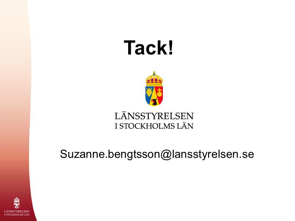 Suzanne.bengtsson@lansstyrelsen.se Tack!