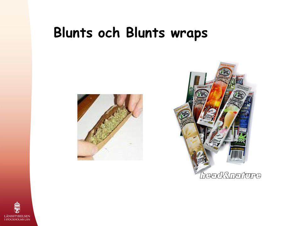 Blunts och Blunts wraps