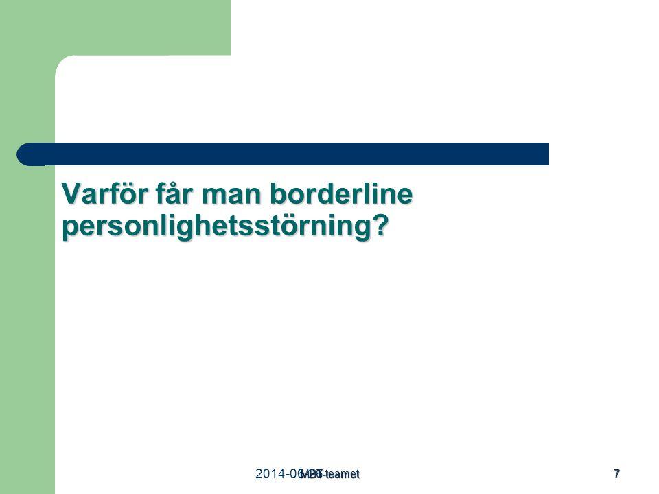2014-06-26MBT-teamet 7 Varför får man borderline personlighetsstörning?
